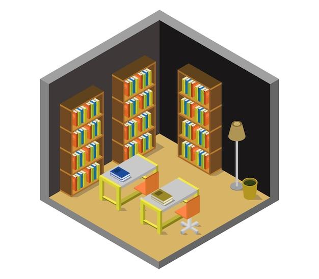 Изометрическая библиотека