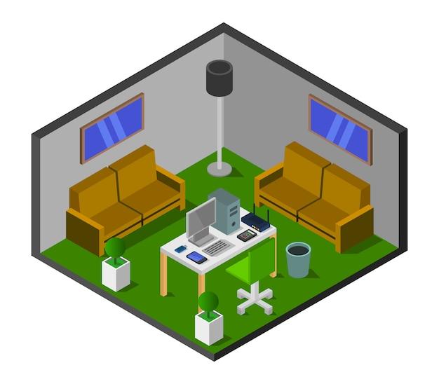 Изометрические кабинет