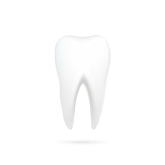 影付きの歯