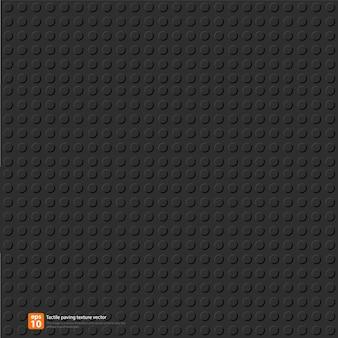 シームレスな黒い円のタイルのテクスチャベクトル形式