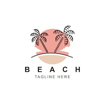 パームビーチのロゴ