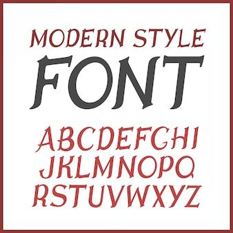 Старинный шрифт