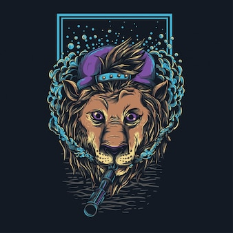 バッドボーイライオン