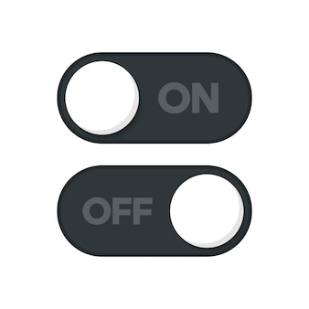 オン/オフアイコン切り替えボタン