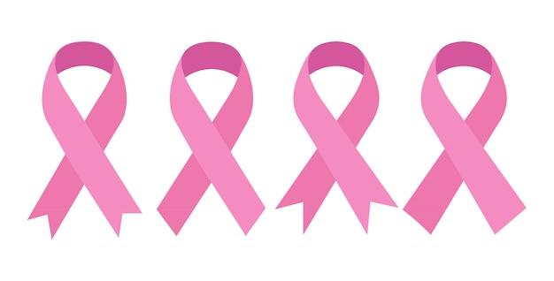 ピンクのリボン、イラスト