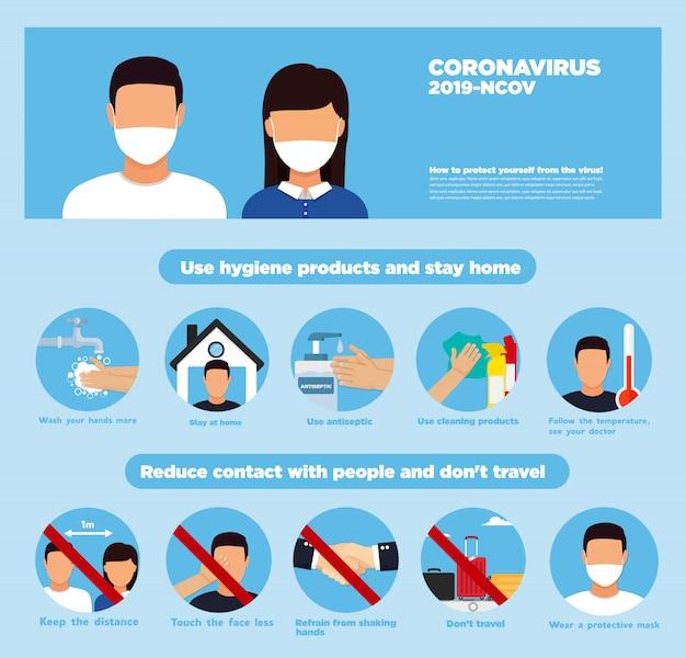 手の消毒剤。コロナウイルス衛生製品は、ウイルスコロナウイルスを阻止します。衛生用品。