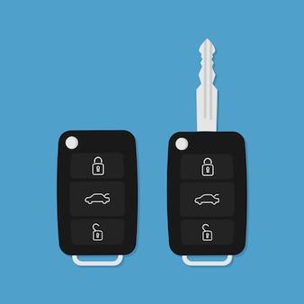 Векторный ключ от машины
