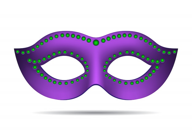 マルディグラのマスク