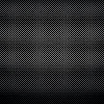 炭素繊維テクスチャの黒の背景