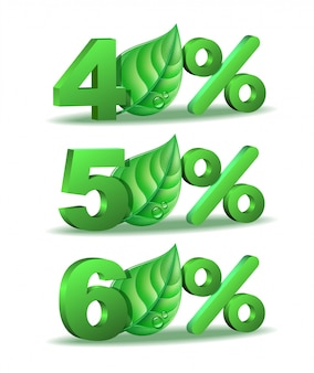 Весенний процент скидка значок