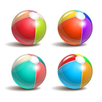 Пляжные мячи