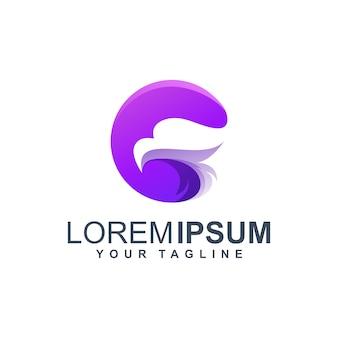 Орел логотип дизайн иллюстрация