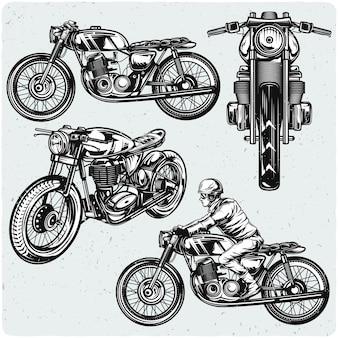 オートバイのセット