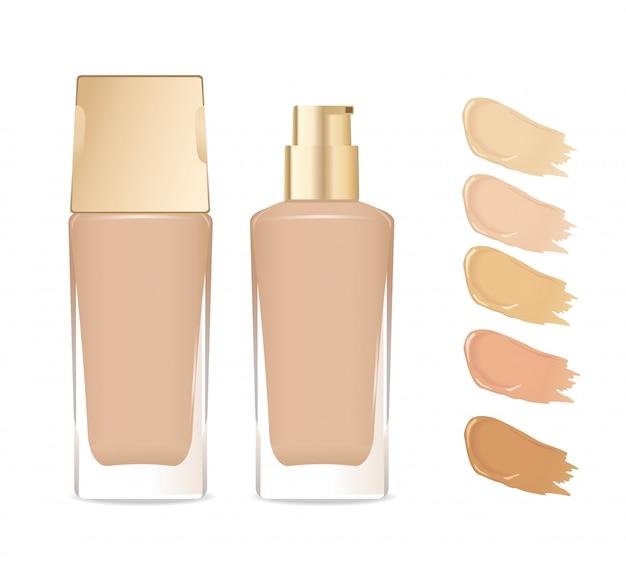 基礎化粧品用ガラス容器