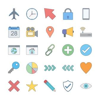 Набор иконок базового интерфейса для личного и коммерческого использования