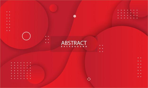 Абстрактный фон с красным цветом.