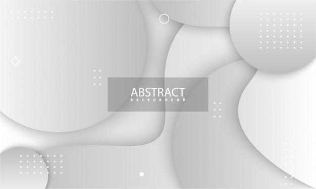 グレーと白の色と抽象的な背景。