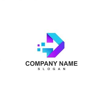 矢印のロゴ