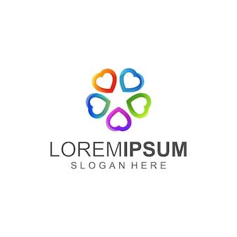 Любовный логотип