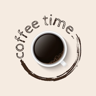 Кофе тайм постер