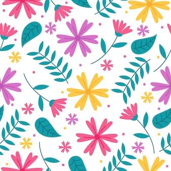 Ручной обращается цветочные узоры