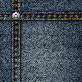 Реалистичная джинсовая фон
