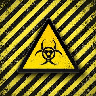 Знак биологической опасности. иллюстрации.
