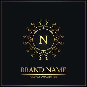Креативный свадебный логотип