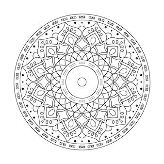 マンダラベクトルアートパターン
