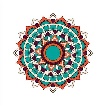 Индийский дизайн мандалы