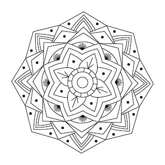 Креативная структура вектор мандала