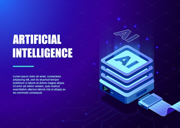 人工知能テンプレート用のプロセッサチップとデジタル回路