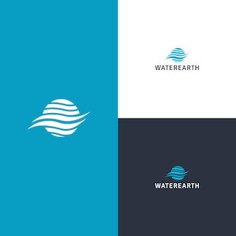 Вода земля логотип