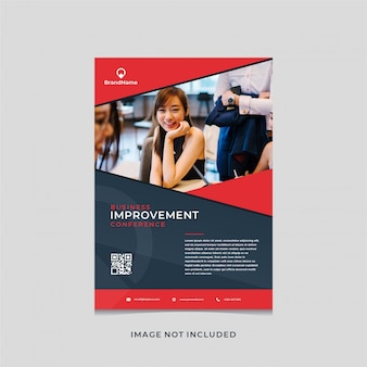 Элегантный дизайн флаера для улучшения бизнеса