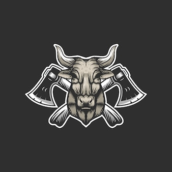 Логотип коровьего топора