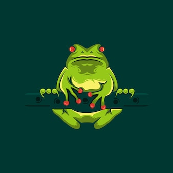 Лягушка логотип