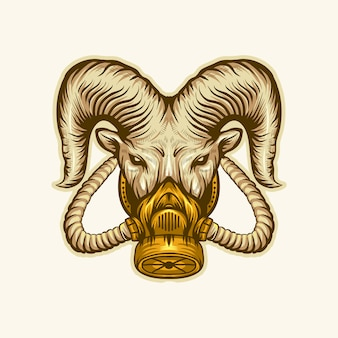 Логотип козьей маски