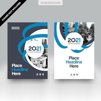 Городской фон бизнес-обложка дизайн векторного шаблона