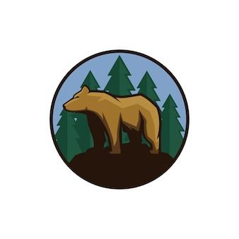 ホッキョクグマのロゴ