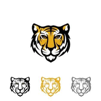 Тигр логотип векторы