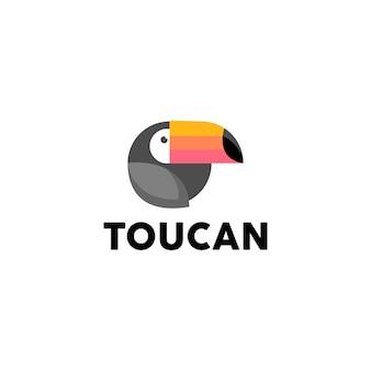 Тукан логотип вектор