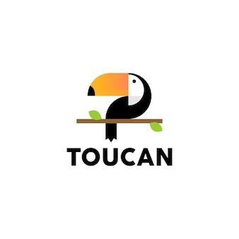 オオハシのロゴのベクトル
