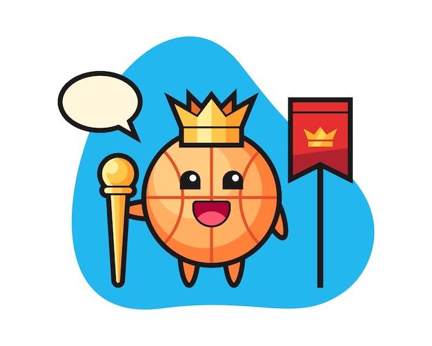 Баскетбольный мультфильм как король