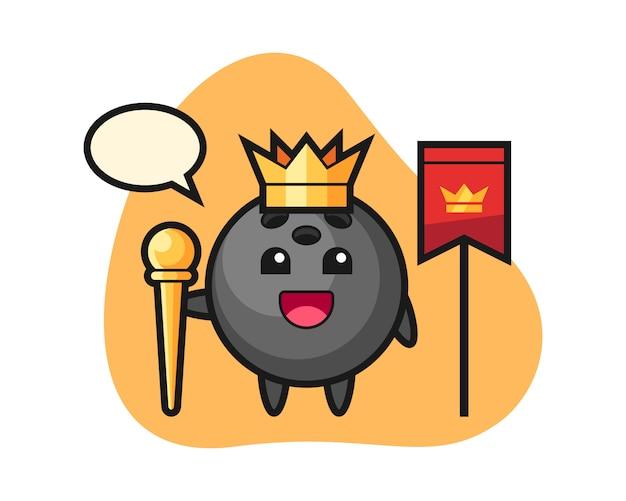 Шар для боулинга как король