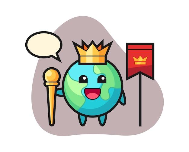Земной мультфильм как король