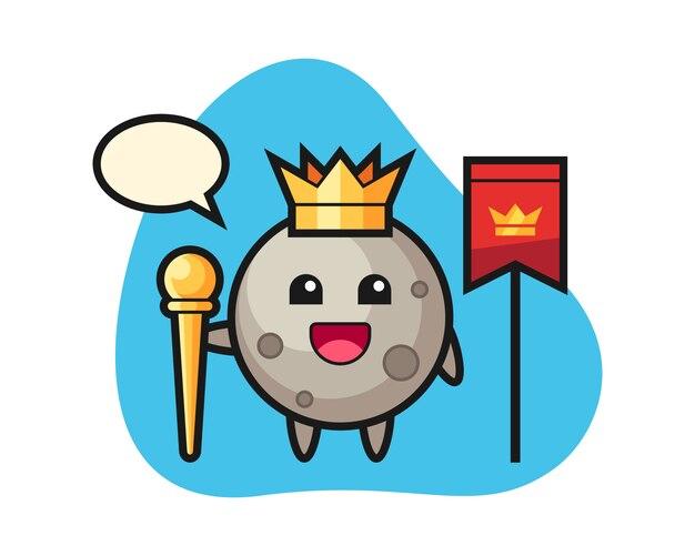 Лунный мультфильм как король