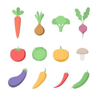 Свежие здоровые овощи