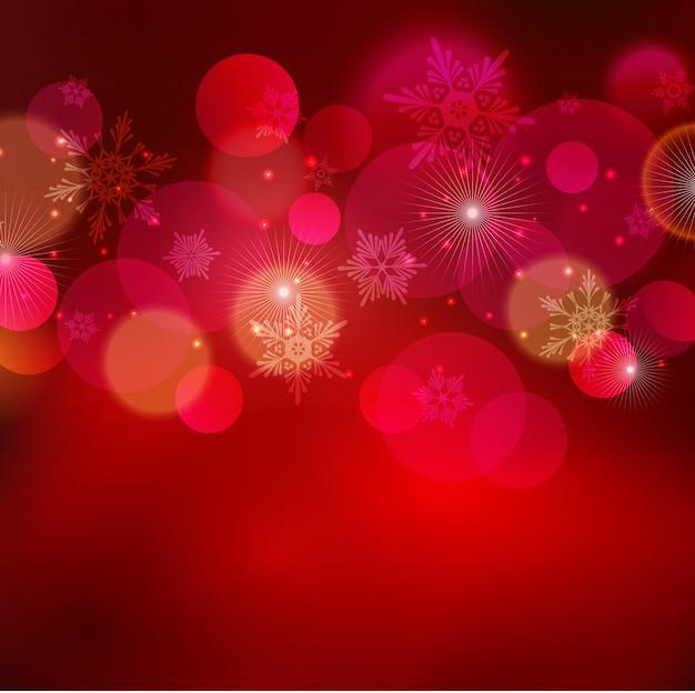 Абстрактный рождественский свет фон с боке