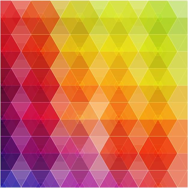 幾何学的なヒップスターのレトロな背景