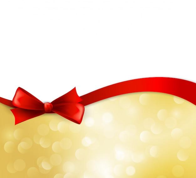弓でベクトルクリスマス背景
